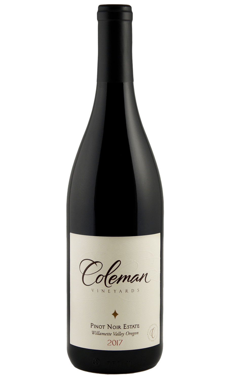 2017 Pinot Noir Estate bottle shot