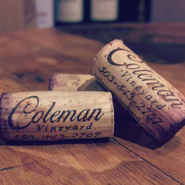 Coleman library wine corks
