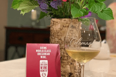 Memorial Weekend wine tasting event with Chardonnay
